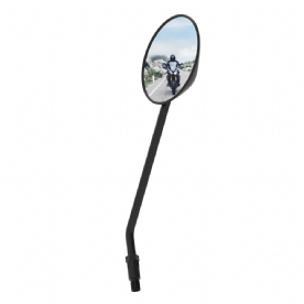 Oxford Round Mirror - Black